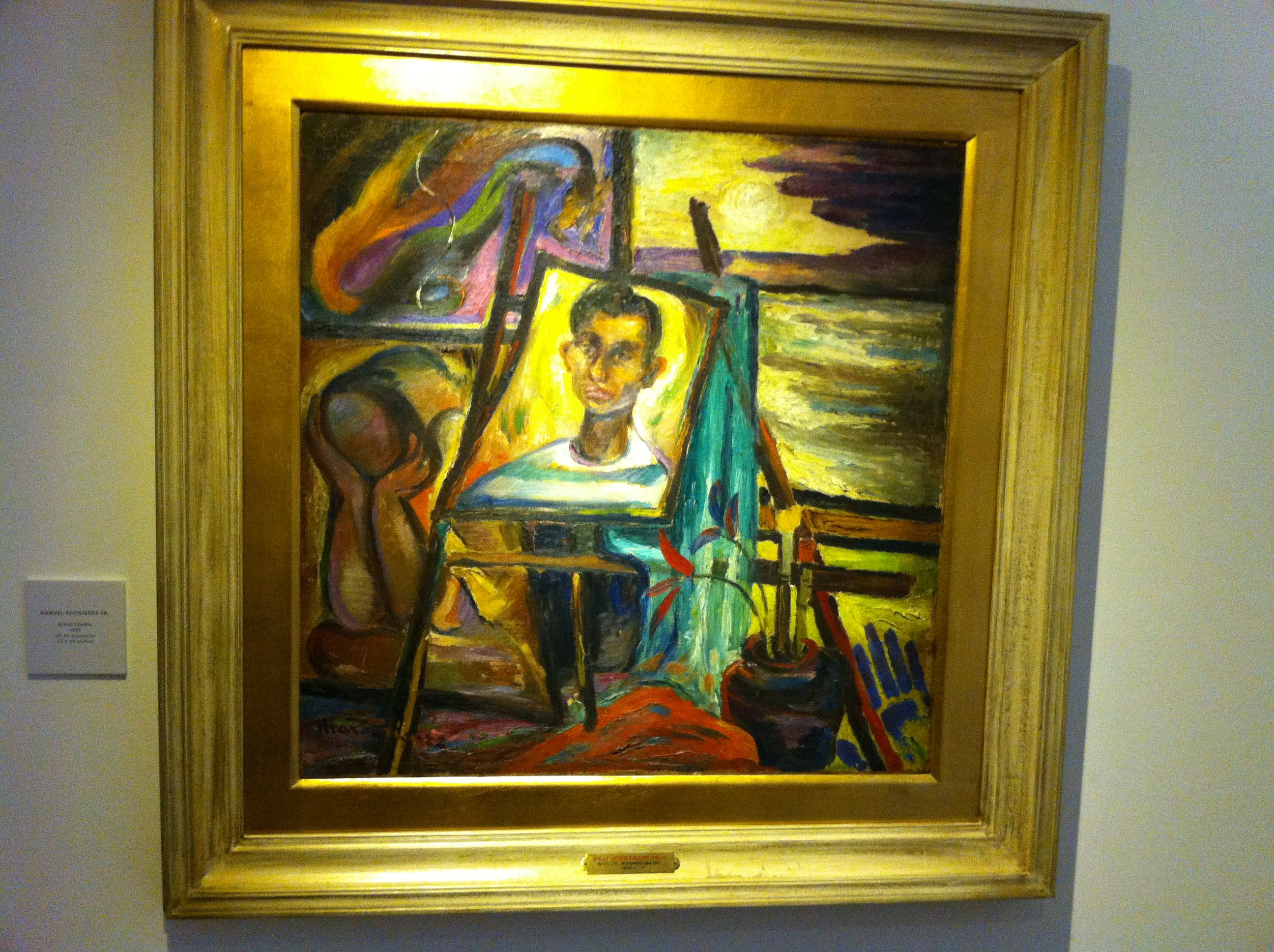 100 Self Portraits From The Paulino Que Collection | Manila Art Blogger